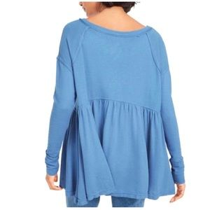 NWT Free People Forever Your Girl Babydoll Tunic